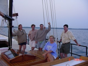 Serenity is in Yorktown - Group Of Friends Aboard Serenity