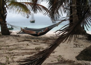 Hanging in San Blas