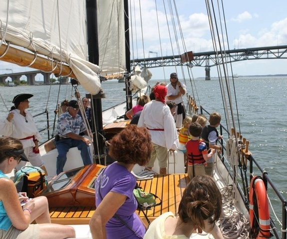 Pirate Cruise Rates Boat Tours In Yorktown VA Yorktown Sailing - Cruise ship yorktown